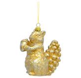 Ardilla Colgante Oro 12cm