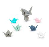 Marcador de Copa y Tapón Origami 7 Piezas  Umbra