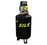 Compresor 2HP 75lt Vertical 120PSI Silk