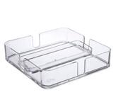 Servilletero Plástico Transparente   Coza