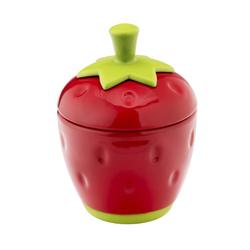 Recipiente para Mermelada Diseño de Frutilla