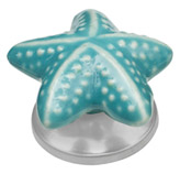 Pomo Starfish Turquesa