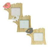 Porta Retrato Pájaro 7x7cm