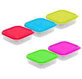Mini Contenedores con Tapa Set de 5 Piezas