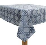 Mantel Azul con Diseño de Rayas