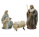 Nacimiento Sagrada Familia 3 Piezas 80cm