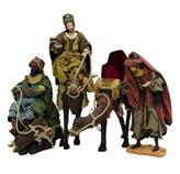 Reyes Magos 40cm en Set de 4 Piezas