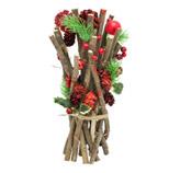 Ramas Decorativas con Piñones