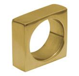 Anillo Porta Servilleta Square Oro Brillante