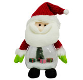 Papa Noel con Luz 34cm