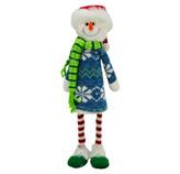 Muñeco de Nieve  Parado 34cm