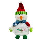 Muñeco  de  Nieve  con  Luz 32cm