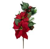 Rama Pick Flor Roja 45cm