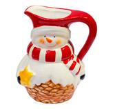 Cremera Navideña Snowman