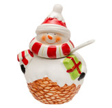 Azucarera Navideña Snowman