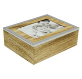 Caja Portaretrato de Madera