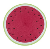 Individual Tejido Diseño de Sandia 38cm