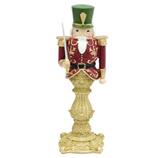 Adorno Cascanuez Verde Rojo   36cm