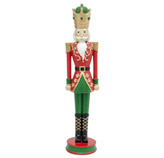 Adorno Cascanuez el Rey Rojo Luminoso 54.5cm