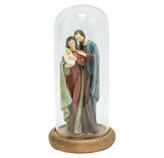 Adorno Navideño Sagrada Familia en Cúpula 27cm