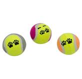 Pelota Diseño de Tenis para Mascota en Set de 3 Piezas