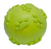Pelota Verde de Caucho para Mascota