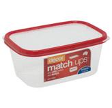 Contenedor Matchups 1 Litro Rojo  Decor