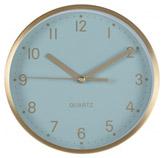Reloj de Mesa con Borde Dorado