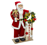 Santa Welcome con Luz Led 90cm