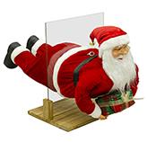 Santa Volando 80cm