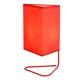Lámpara de Mesa Scribble Roja Eurolight