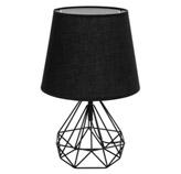 Lámpara de Mesa Prysm Negra Eurolight