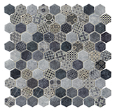 Mosaico Terre Mix Blue 29.2x31.8cm