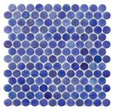 Mosaico Circle Sapphire 30.7x31.3cm