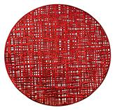 Individual PVC Rojo 38cm