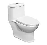 Inodoro Pisa Doble Flush con Tapa Hidráulica Vitta
