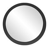Espejo Tray Negro 50cm
