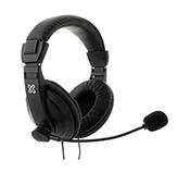 Audifono + Microfono Klip Xtreme Para Conferencia 2 Conectores 3.5Mm