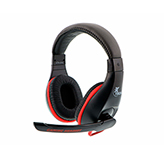Audifono + Microfono Gamer Xtech On Ear 2 Conectores 3.5Mm Negro-Rojo