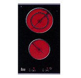 Cocinas de Vitrocerámica Modulares Eléctrica de 30cms