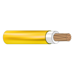 Cable Flexible THHN 10 Sólido  (Rollo 25mt)