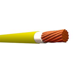 Cable Sólido THHN 14 (Rollo 10mt) Amarillo