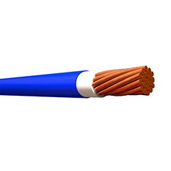 Cable Sólido THHN 14 (Rollo 25mt) Azul