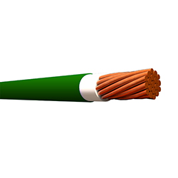 Cable Sólido THHN 12 (Rollo 10mt) Verde