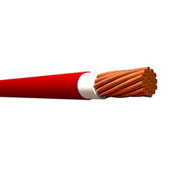 Cable Sólido THHN 10 (Rollo 10mt) Rojo