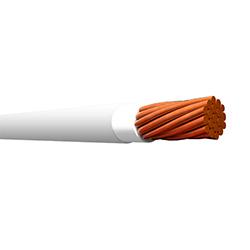 Cable Sólido THHN 10 (Rollo 25mt) Blanco