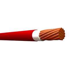 Cable Sólido THHN 10 (Rollo 25mt) Rojo