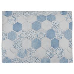 Individual Geometry Ligth Blue 35x45cm