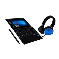 Notebook Xtratech Learning Yoga Celeron N3350 1.1GHZ-4GB-64GB+256GB SSD-WIFI IP52-11.6