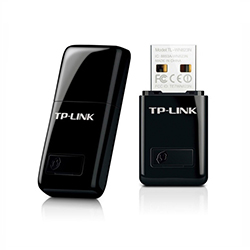 Adaptador Tplink Usb A Wifi 300 Mbps Wps Mini